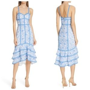 Alice + Olivia Diane Tiered Dress